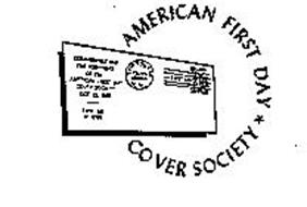 AMERICAN FIRST DAY COVER SOCIETY COMMEMORATING THE FOUNDING OF THE AMERICAN FIRST DAY COVER SOCIETY OCT. 15, 1955 FIRST DAY OF ISSUE NEW YORK N.Y. FIRST DAY