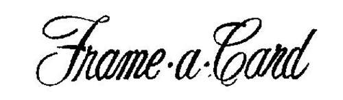 FRAME-A-CARD