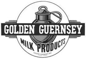 GOLDEN GUERNSEY MILK PRODUCTS GOLDEN GUERNSEY, INC. TRADE MARK