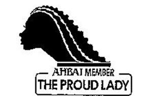 AHBAI MEMBER THE PROUD LADY
