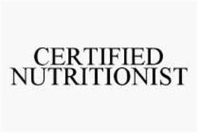 CERTIFIED NUTRITIONIST