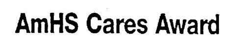 AMHS CARES AWARD