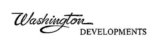WASHINGTON DEVELOPMENTS