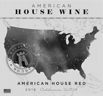 AMERICAN HOUSE WINE IN HOUSE WINE WE TRUST AMERICAN HOUSE RED 2016 CALIFORNIA USA