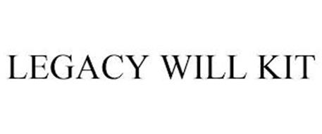 LEGACY WILL KIT