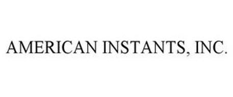 AMERICAN INSTANTS, INC.