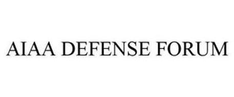 AIAA DEFENSE FORUM