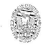 SEAL OF THE AMERICAN INSTITUTE OF ARCHITECTS MDCCCLVII