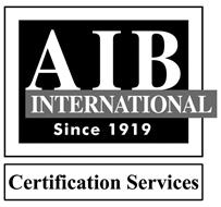 AIB INTERNATIONAL SINCE 1919 CERTIFICATION SERVICES