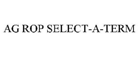 AG ROP SELECT-A-TERM