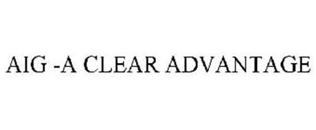 AIG -A CLEAR ADVANTAGE