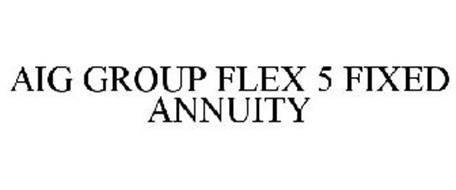 AIG GROUP FLEX 5 FIXED ANNUITY