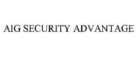 AIG SECURITY ADVANTAGE