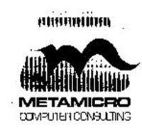 M METAMICRO COMPUTER CONSULTING