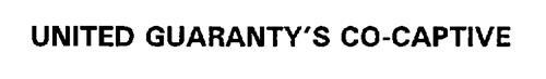 UNITED GUARANTY'S CO-CAPTIVE