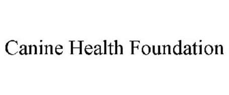 CANINE HEALTH FOUNDATION