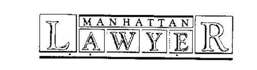 MANHATTAN LAWYER