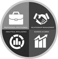 PROFESSIONAL EFFECTIVENESS RELATIONSHIP MANAGEMENT ANALYTICAL INTELLIGENCE BUSINESS ACUMEN