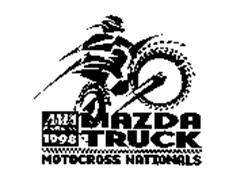 MOTOCROSS NATIONALS MAZDA TRUCK AMA PRO RACING 1998