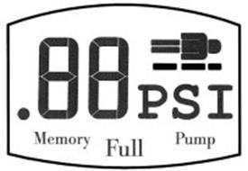 .88 PSI MEMORY FULL PUMP
