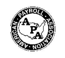 APA AMERICAN PAYROLL ASSOCATION
