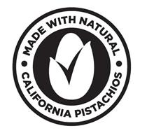 MADE WITH NATURAL CALIFORNIA PISTACHIOS