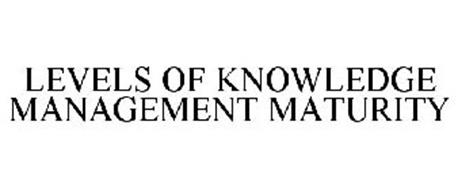 LEVELS OF KNOWLEDGE MANAGEMENT MATURITY