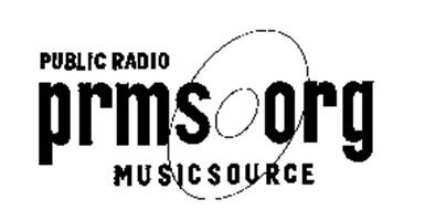 PUBLIC RADIO PRMS ORG MUSICSOURCE