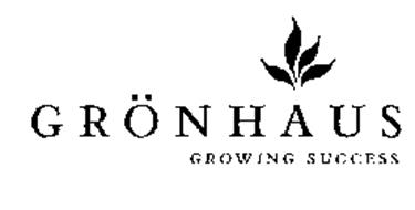 GRONHAUS GROWING SUCCESS