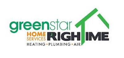 GREEN STAR HOME SERVICES RIGHTIME HEATING PLUMBING AIR