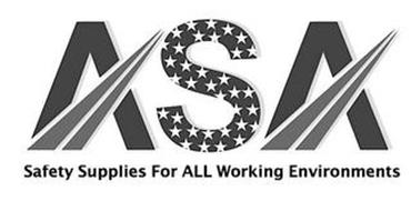 ASA SAFETY SUPPLIES FOR ALL WORKING ENVIRONMENTS