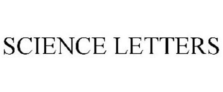 SCIENCE LETTERS