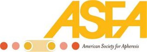 ASFA AMERICAN SOCIETY FOR APHERESIS
