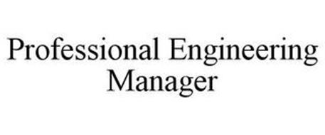 PROFESSIONAL ENGINEERING MANAGER