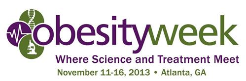 OBESITYWEEK WHERE SCIENCE AND TREATMENT MEET NOVEMBER 11-16,2013 ATLANTA, GA