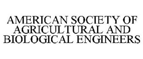 AMERICAN SOCIETY OF AGRICULTURAL AND BIOLOGICAL ENGINEERS