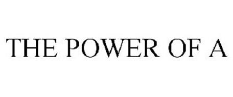 THE POWER OF A