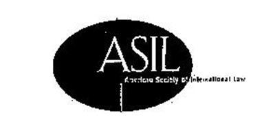 ASIL AMERICAN SOCIETY OF INTERNATIONAL LAW