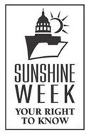 SUNSHINE WEEK YOUR RIGHT TO KNOW