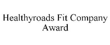 HEALTHYROADS FIT COMPANY AWARD