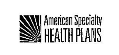 AMERICAN SPECIALTY HEALTH PLANS