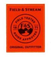 FIELD & STREAM FIELD TESTED GUIDE APPROVED F&S ORIGINAL OUTFITTER