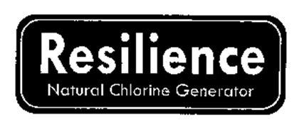 RESILIENCE NATURAL CHLORINE GENERATOR