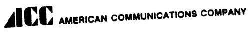 ACC AMERICAN COMMUNICATIONS COMPANY