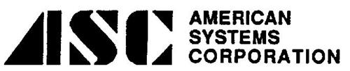 ASC AMERICAN SYSTEMS CORPORATION