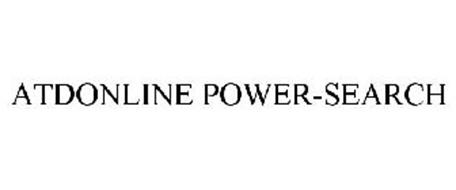 ATDONLINE POWER-SEARCH