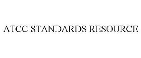 ATCC STANDARDS RESOURCE