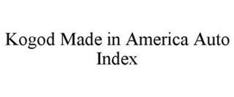 KOGOD MADE IN AMERICA AUTO INDEX