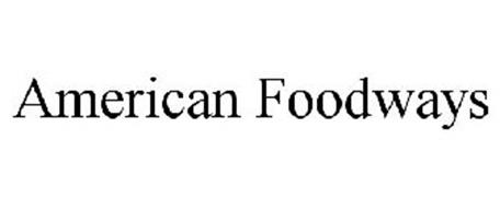 AMERICAN FOODWAYS