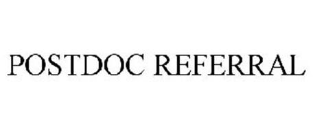 POSTDOC REFERRAL